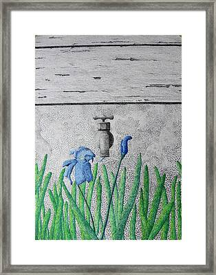Consequence Framed Print by A  Robert Malcom