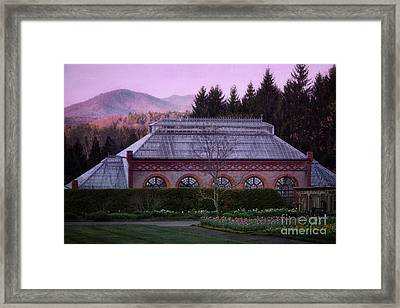 Conservatory At Biltmore Estate Framed Print by Doug Sturgess