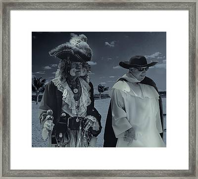 Conspiracy Framed Print by Michael Sage Friean