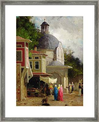 Constantinople Framed Print by Fabius Brest