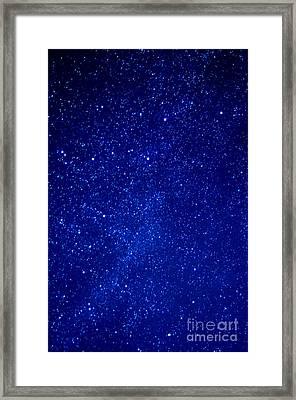 Constellation Cassiopeia  Framed Print by Thomas R Fletcher