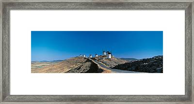 Consuegra La Mancha Spain Framed Print by Panoramic Images