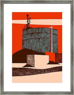 Container Framed Print by Eliza Southwood
