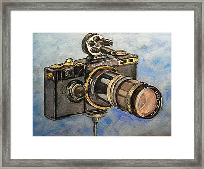 Contax I Framed Print by Juan  Bosco
