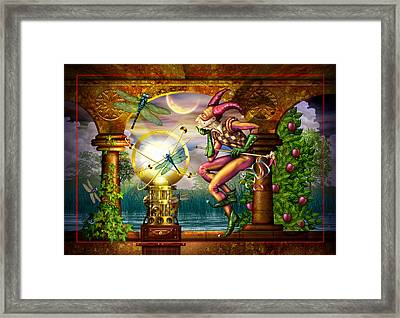 Contemplating The System Framed Print by Ciro Marchetti