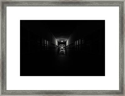 Contemplation Framed Print by Chris Fletcher