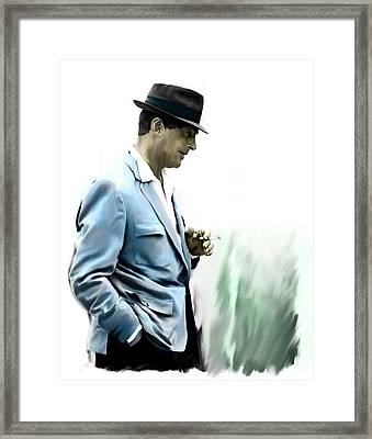 Contemplation IIi Dean Martin  Framed Print by Iconic Images Art Gallery David Pucciarelli