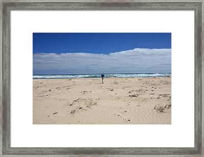 Contemplation Framed Print by Elaine Teague