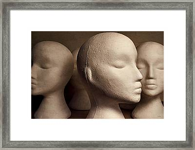 Contemplation Framed Print by Jeff  Gettis