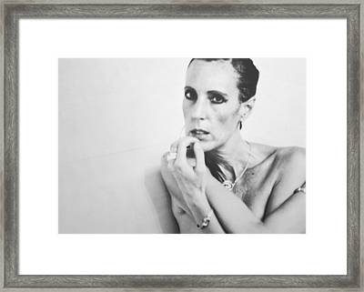 Contemplation Framed Print by  Kelly Hayner
