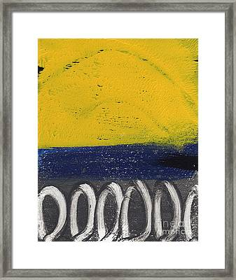 Contemplation Framed Print by Linda Woods