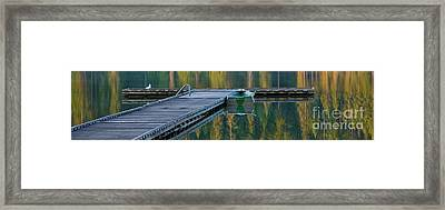 Contemplation Pano Framed Print by Idaho Scenic Images Linda Lantzy