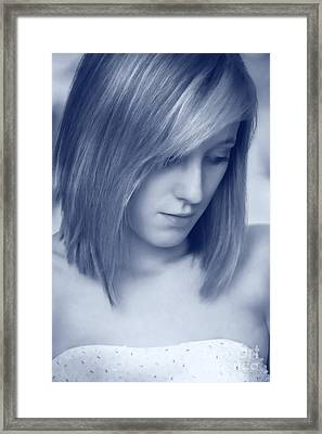 Contemplative Framed Print by Amanda Elwell