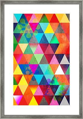 Contemporary 3 Framed Print by Mark Ashkenazi