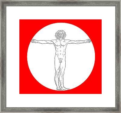 Contemporary Man Framed Print by Daniel Hagerman