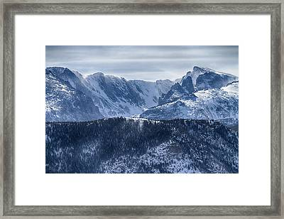 Continental Divide Co Rocky Mountains National Park Framed Print by James BO  Insogna