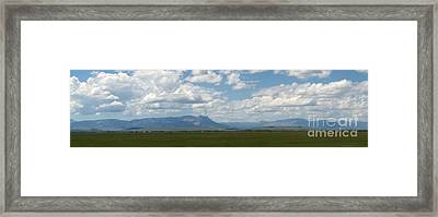 Continental Divide Panoramic 1 Framed Print by Matthew Peek