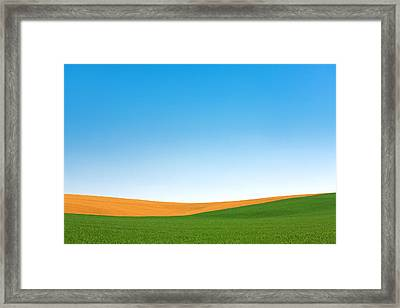 Contours Framed Print by Todd Klassy