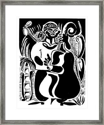Contrabass Framed Print by Vadim Vaskovsky