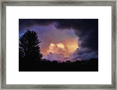 Contradictions Framed Print by Cricket Hackmann