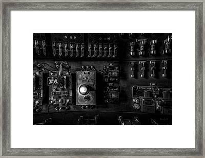 Control Panel Framed Print by Bob Orsillo