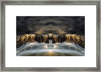 Convergence  Framed Print by Bob Orsillo