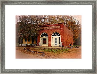 Cook Station Bank Framed Print by Marty Koch
