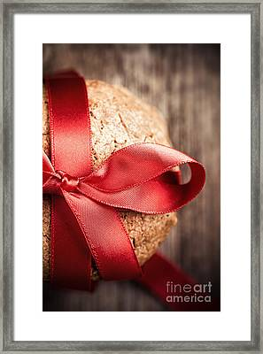 Cookie Gift Framed Print by Jane Rix