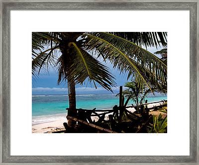 Cool Breeze Framed Print by Karen Wiles