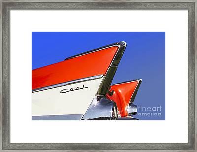 Cool Car Framed Print by Diane Diederich
