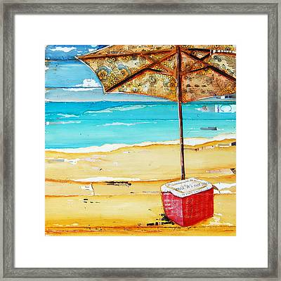 Cool Off Framed Print by Danny Phillips