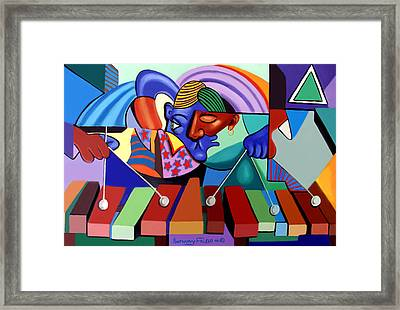 Cool Vibes Framed Print by Anthony Falbo