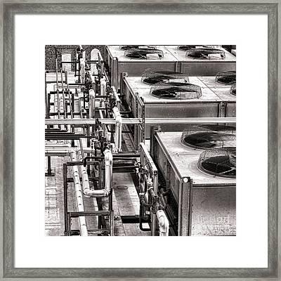 Cooling Force Framed Print by Olivier Le Queinec