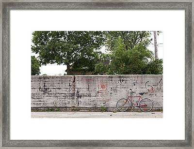 Cooper Lot Framed Print by Jonathan Sippel