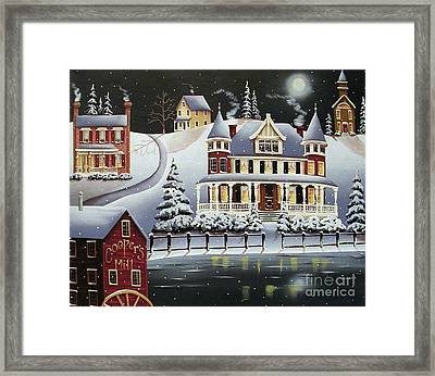 Coopersville Framed Print by Catherine Holman