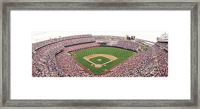 Coors Field Panoramic Framed Print by Retro Images Archive