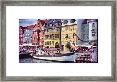 Copenhagen Framed Print by Jeff Kolker