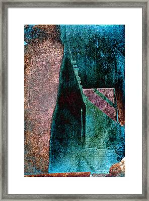 Copper Plate Framed Print by Charles Muhle