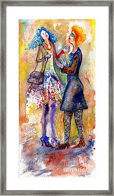 Coquette Framed Print by Milen Litchkov