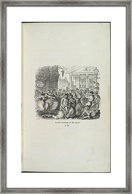 Cordial Workings Of The Spirit Framed Print by British Library