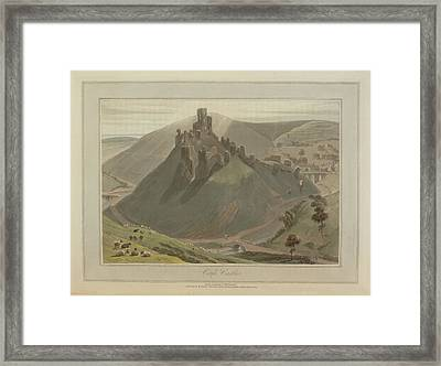 Corfe Castle Framed Print by British Library