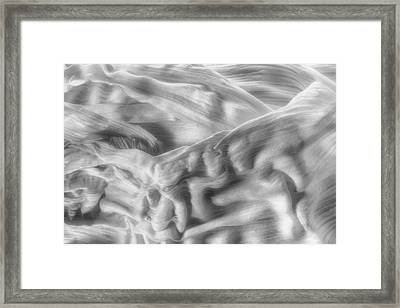 Corn Husk - A Beautiful Chaos Framed Print by Tom Mc Nemar