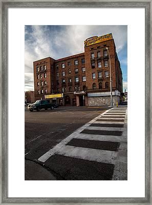 Corner Bar Framed Print by John Daly