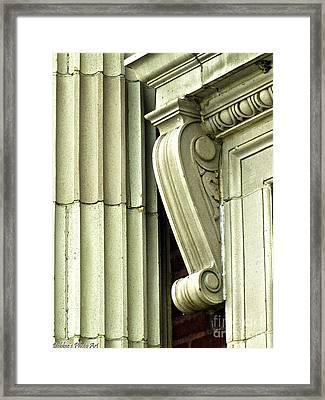 Corner Details Framed Print by Debbie Portwood