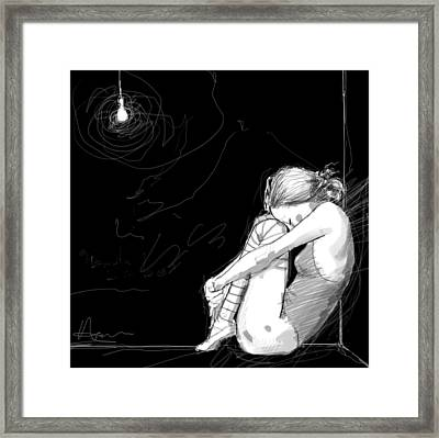 Corner Framed Print by H James Hoff