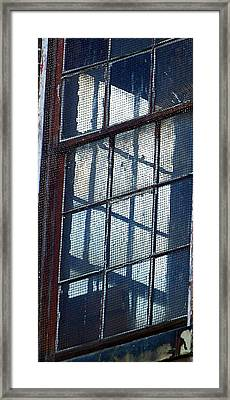 Corner Office Framed Print by Jenny Bowman