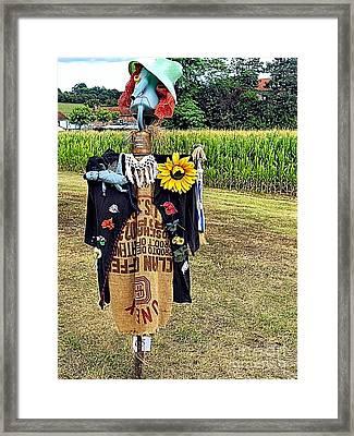Cornfield Fete Framed Print by Lauren Leigh Hunter Fine Art Photography