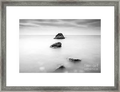 Cornish Seascape  Framed Print by John Farnan