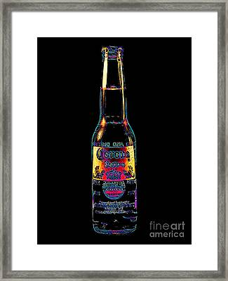 Corona Beer 20130405 Framed Print by Wingsdomain Art and Photography