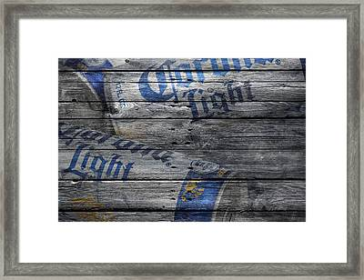 Corona Light Framed Print by Joe Hamilton